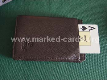 Cards-exchanging Wallet, Cards-exchanging Device, Poker Accessories, Marked Cards