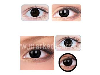Contact Lenses for Dark Eyes, IR or UV Contact Lenses, Marked Cards