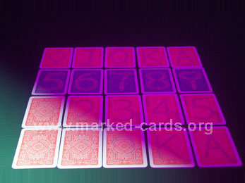 Modiano Black Jack Style Marked Cards, Modiano Series Marked Cards, Marked Cards