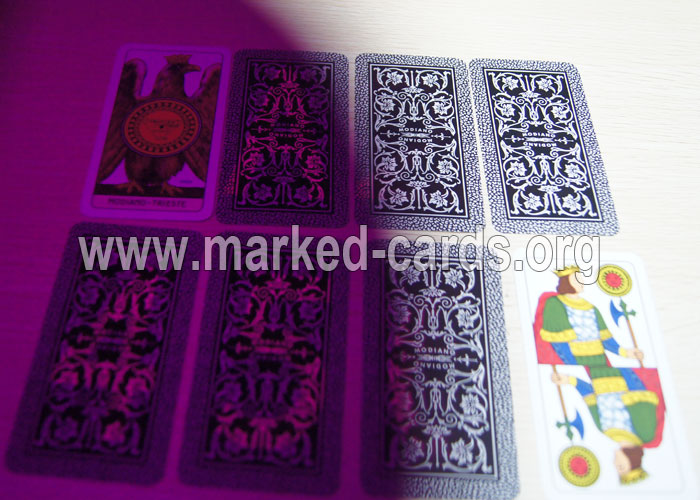 Modiano Piacentine Italian Regional Marked Cards, Modiano Marked Cards, Marked Cards