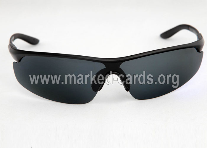 Infrared Sunglasses for Marked Cards, IR or UV Contact Lenses, Marked Cards
